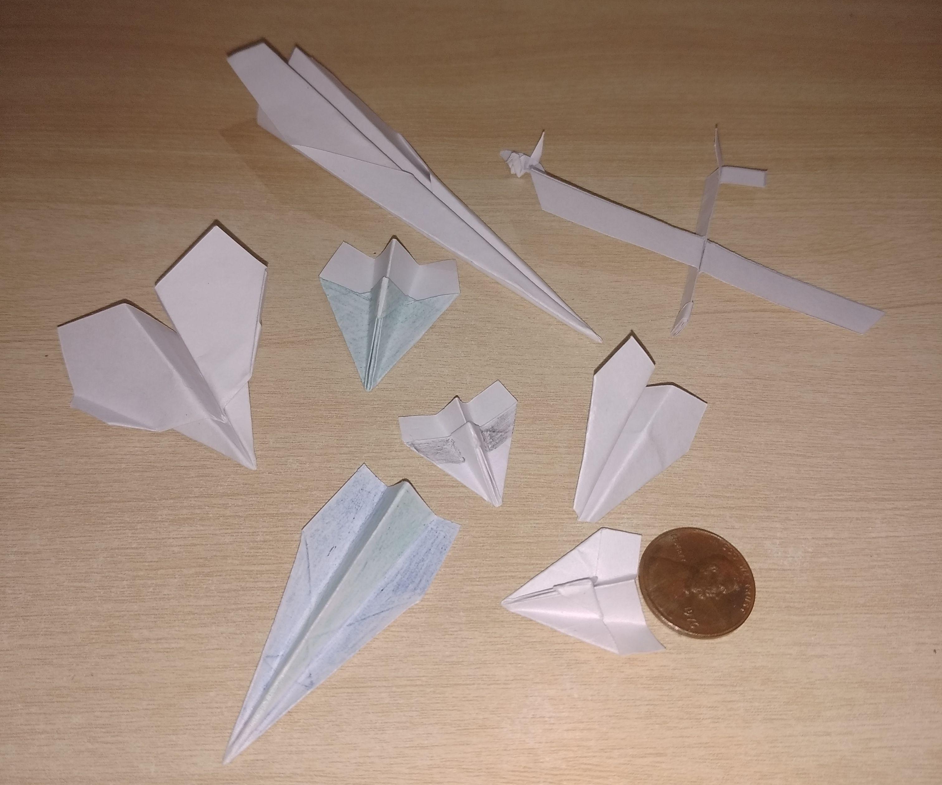 Tiny Paper Planes