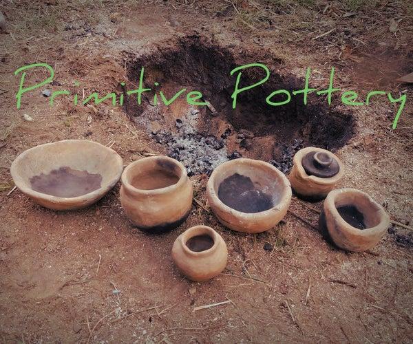 DIY Primitive Pottery Firing