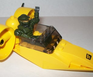 How to Make a Lego Hover Boat