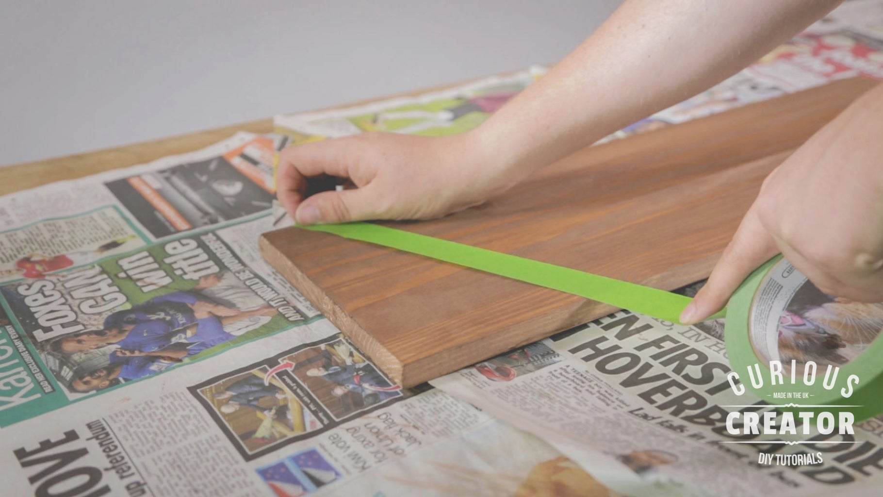 Tape & Paint