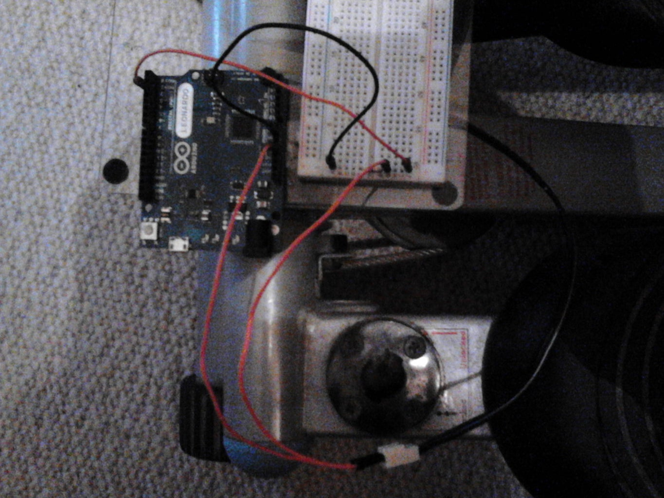 Connect the Stepper With the Arduino.