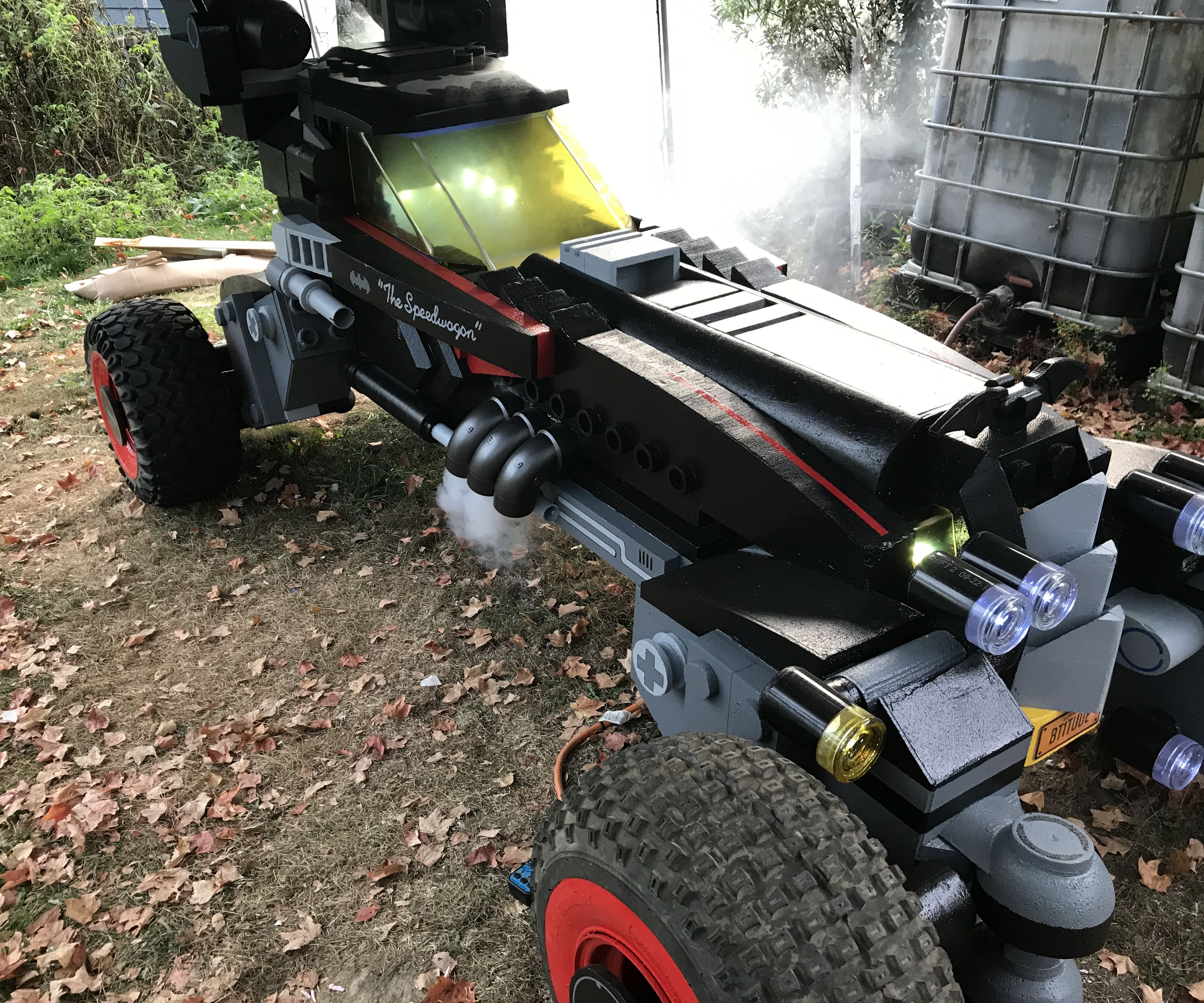 Life Size LEGO Batman Movie Batmobile