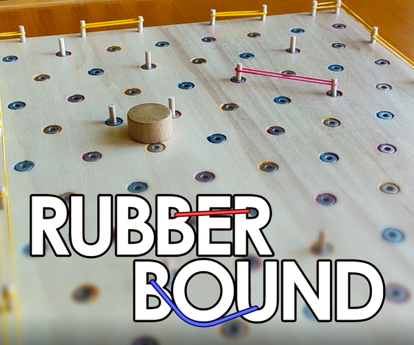 Rubber Bound - a Game With Rubber Bands