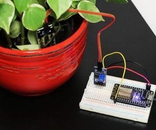 IoT Plant With ESP8266 NodeMCU