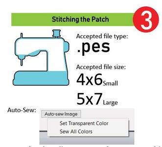 Stitching in Sewart