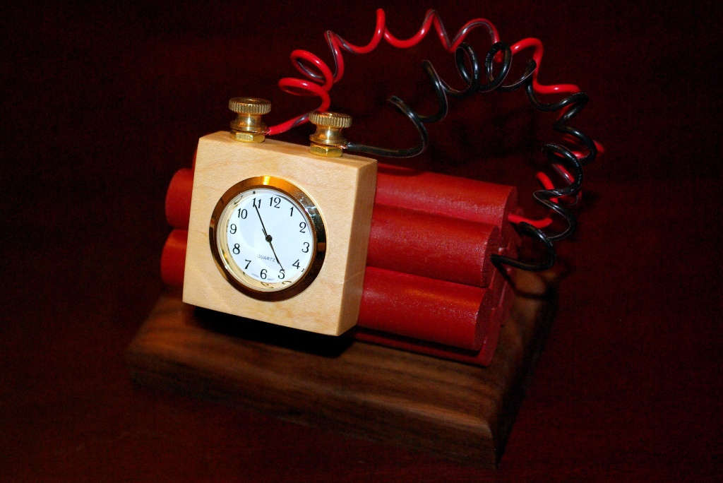 The time-bomb clock