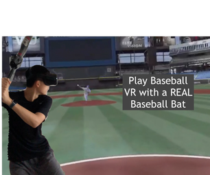 Play Baseball/Softball in VR Using This 3D Printed Mount