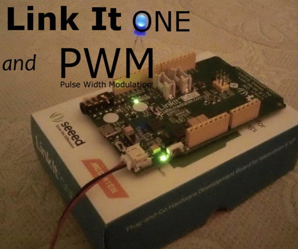 LinkIt One and PWM (Pulse Width Modulation)