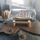 Mini Ship in a Bottle