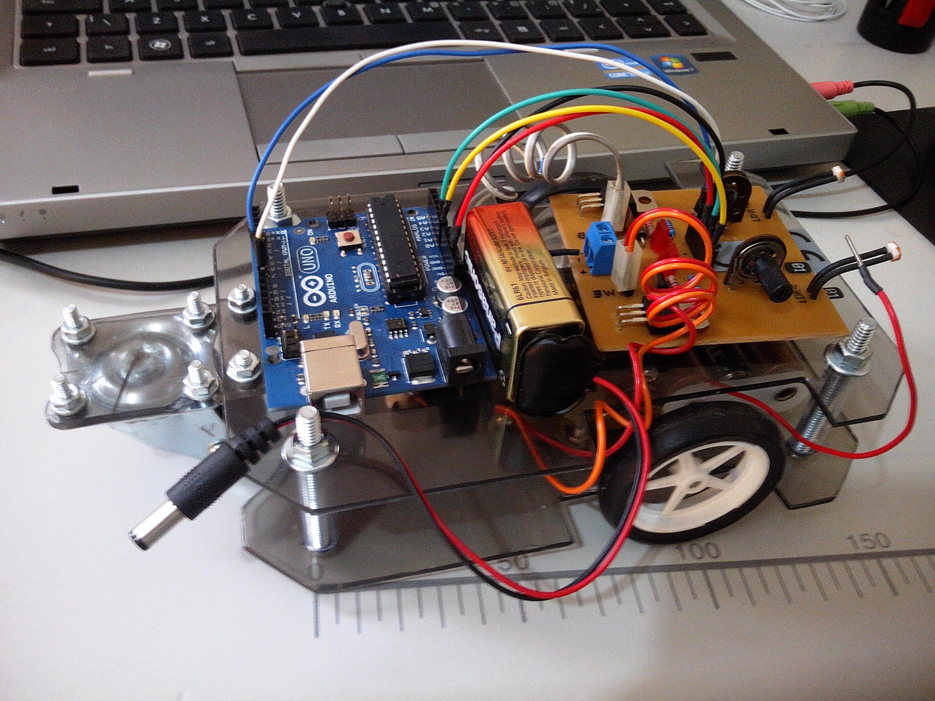 BUGBot - Light Follower Robot