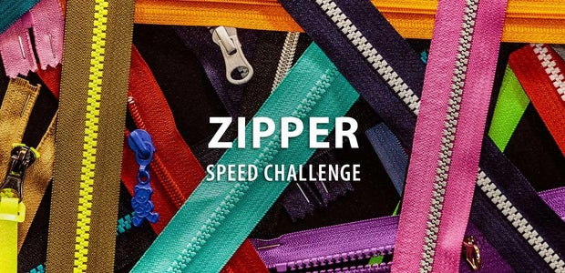 Zipper Speed Challenge