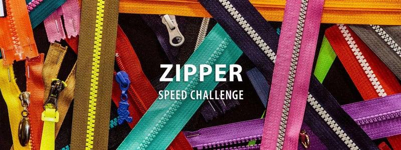 Zipper Speed Challenge