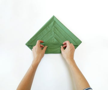 Fold the Corners Up One at a Time