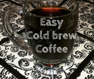Easy Cold Brewed Coffee