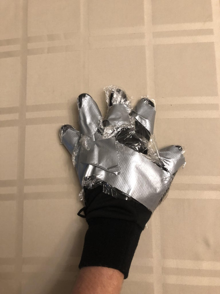 Coronavirus Glove