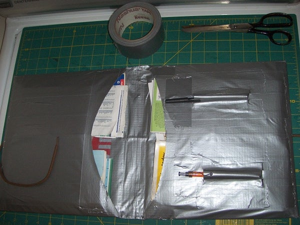 MAP CASE From DUCT TAPE