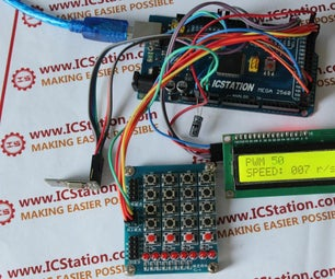 The NRF24L01 Wireless Motor Speed Control System With Arduino