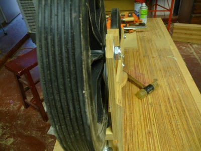 Install Front Wheel