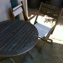 Refurbish an Old Patio Set