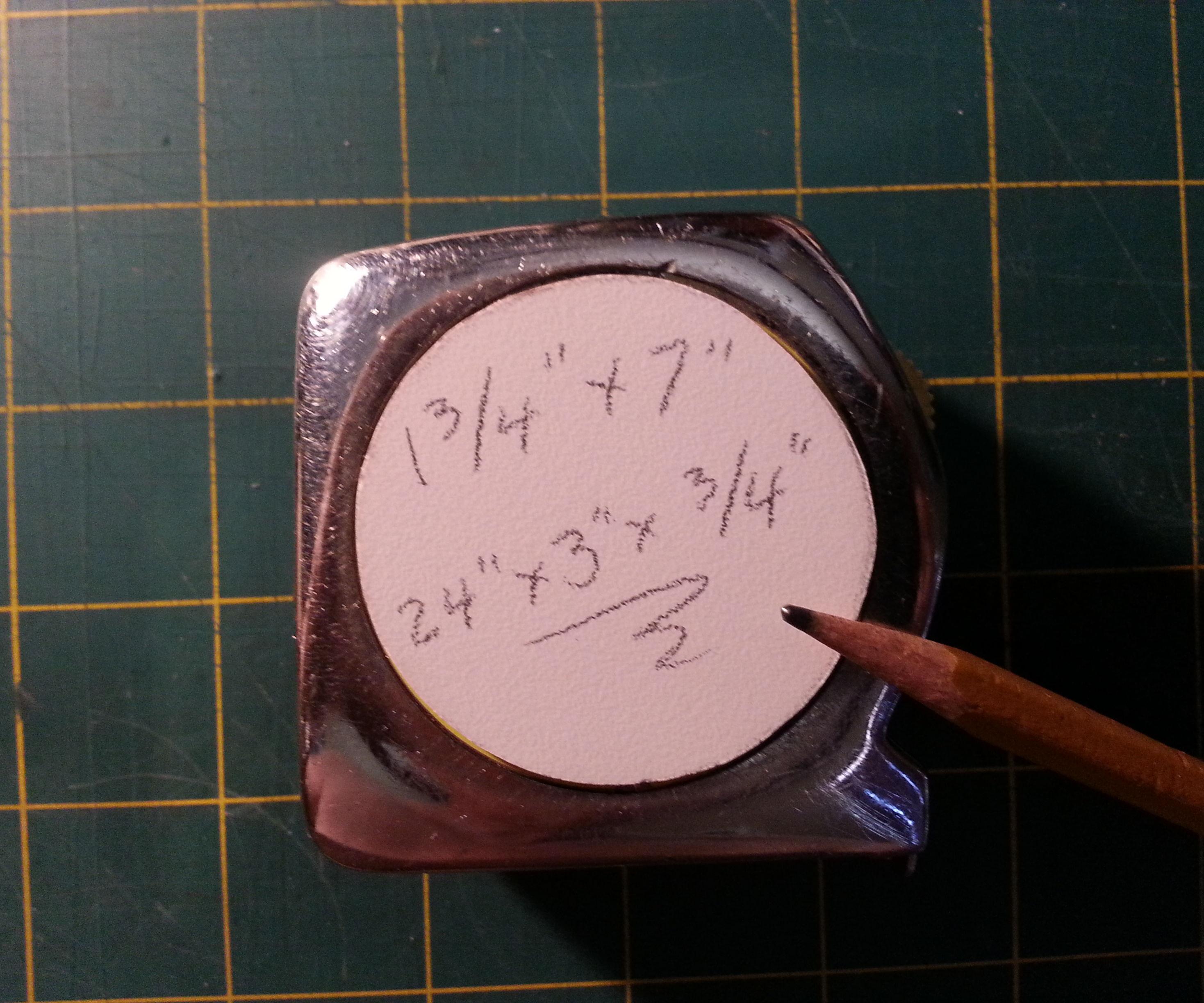 Tape Measure & Pencil Hack