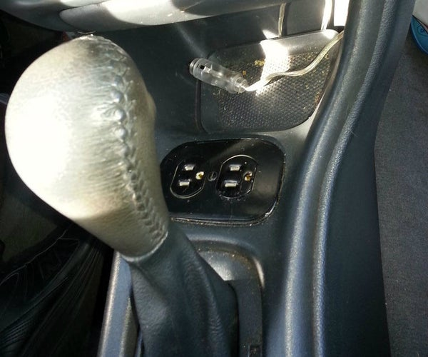 120v Power Source for Car
