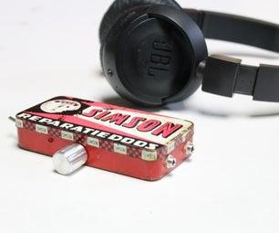 制作耳机放大器v2