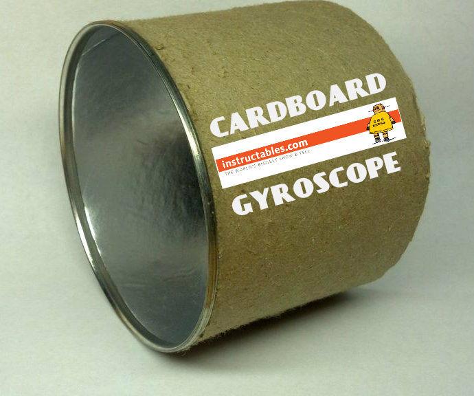Cardboard Gyroscope!