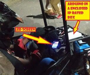 SAE BAJA Electrical - Digital Tachometer & DAQ Using ARDUINO!