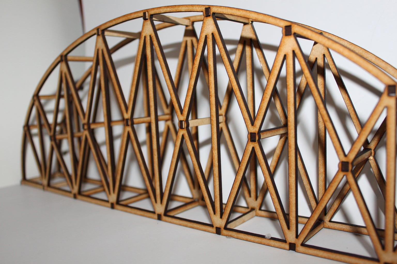 Laser Cut Bridge STEM Challenge!!!