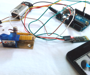 Bluetooth Controlled Lock