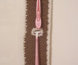 Razor Caddy for Shower (Crochet Pattern)