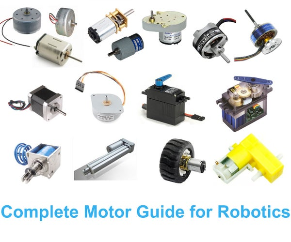 Complete Motor Guide for Robotics
