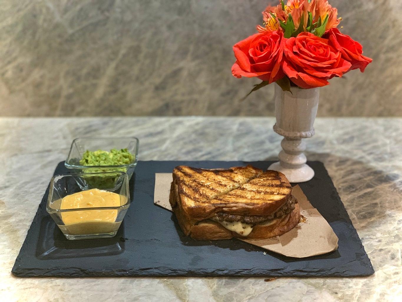 Grilled Cheesy Patty Melt Sandwich Recipe