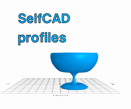 Working With Profiles   SelfCAD
