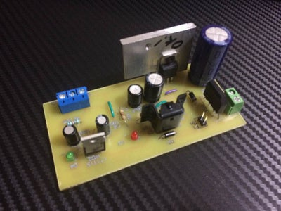 Final Circuit Without Enclosure