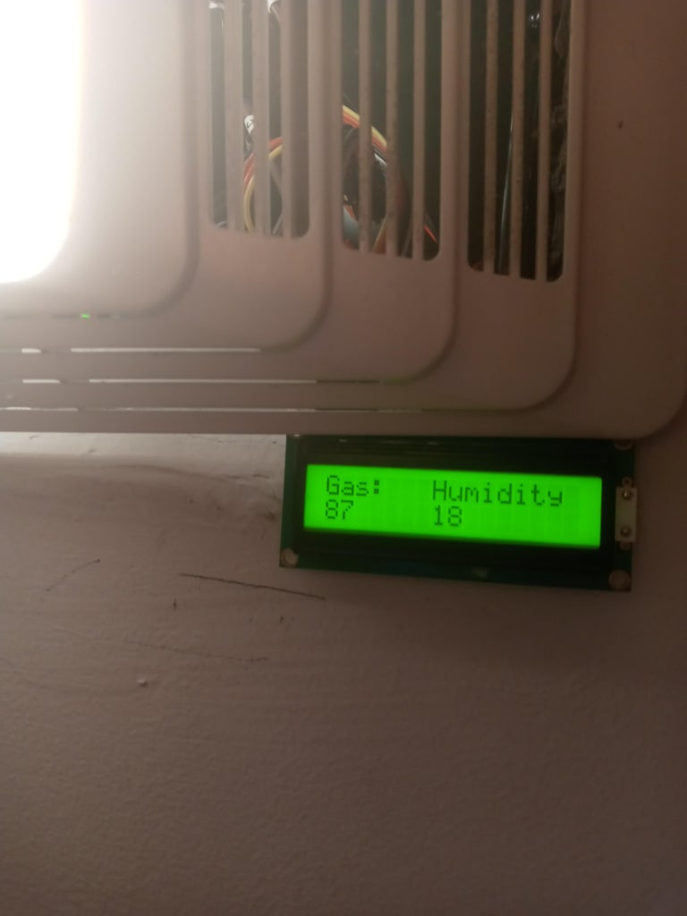 Automatic Bathroom Fan Controller