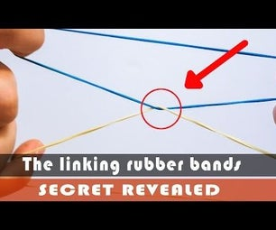 Magic Tricks - Linking Rubber Bands