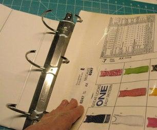 Sewing Pattern Storage - Page Pockets
