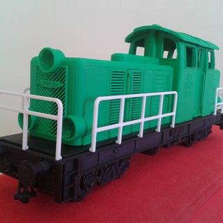 3D Printable Locomotive for LEGO Gauge