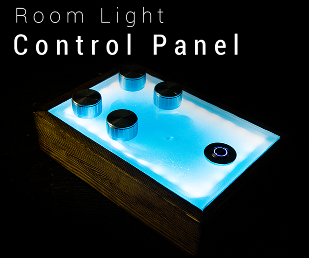 Fancy Room Lighting Control Panel