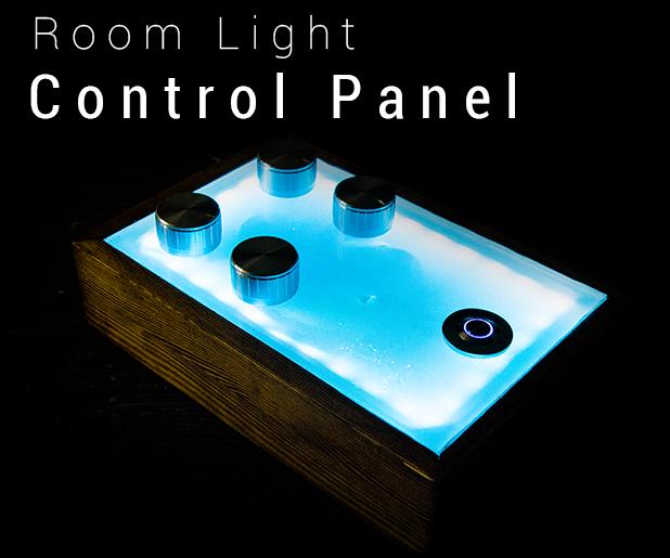 Fancy Room Lighting Control Panel