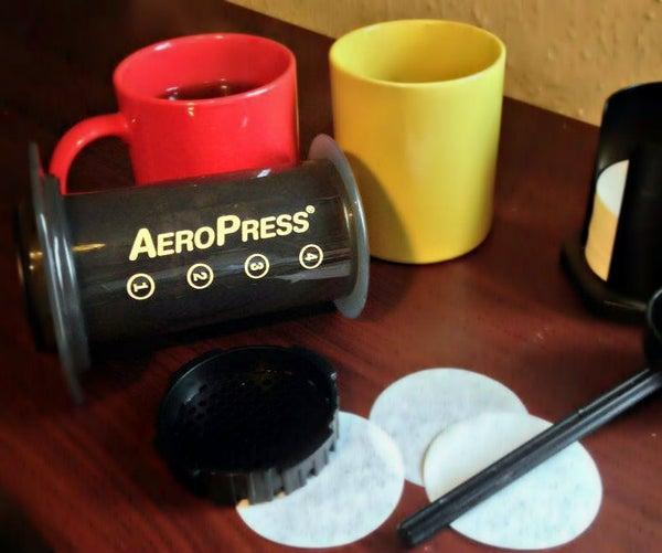 AeroPress Coffee Maker - a Beginner's Guide