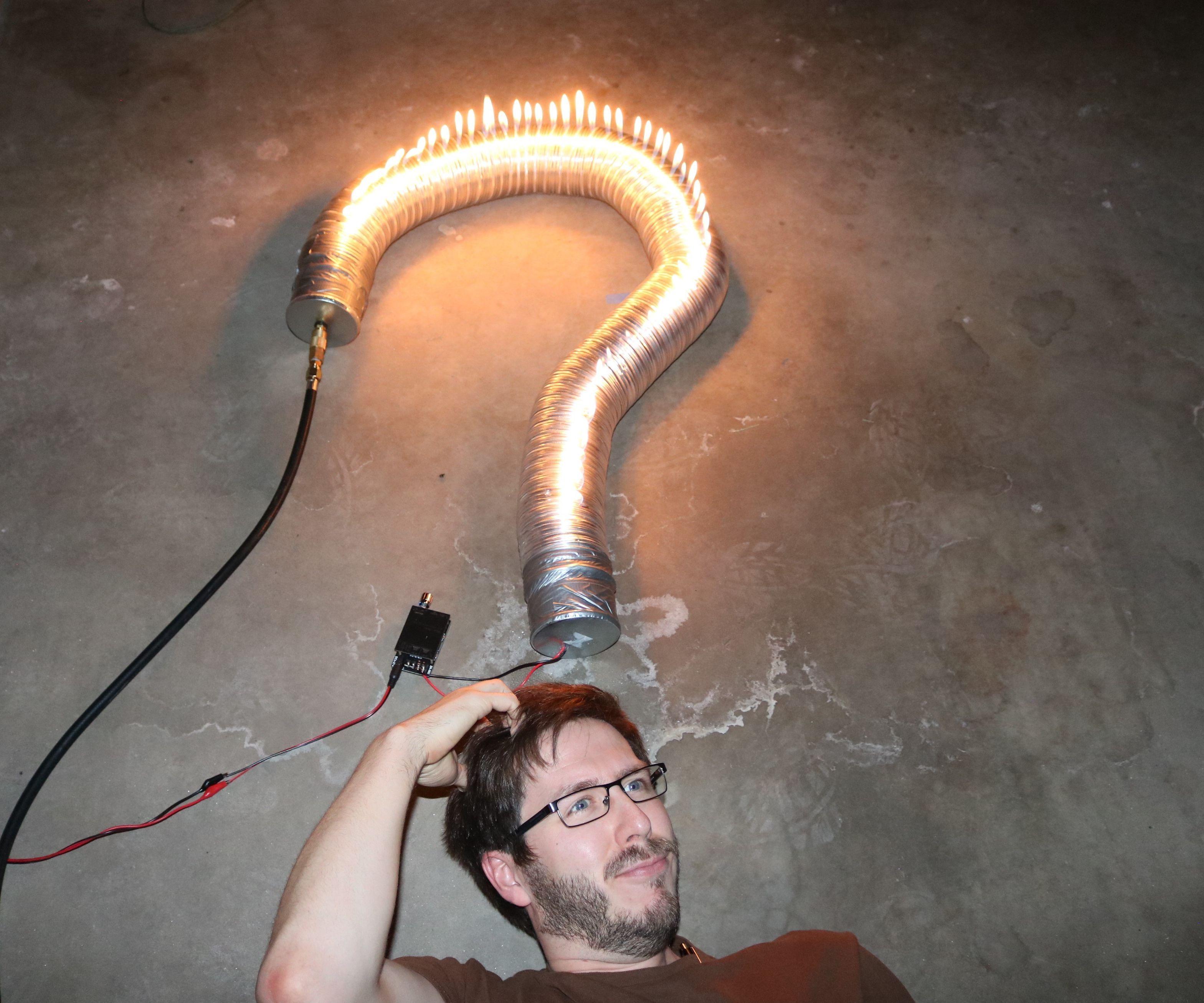 Rubens Tube: Flexible & Variable Length!