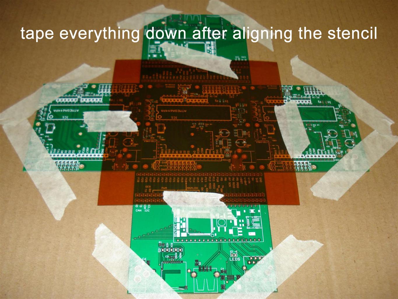 Performing Reflow Soldering