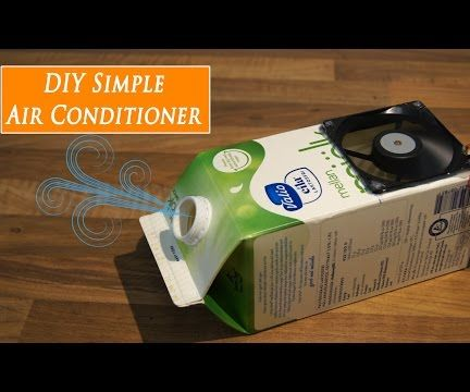 DIY Mini Air Conditioner