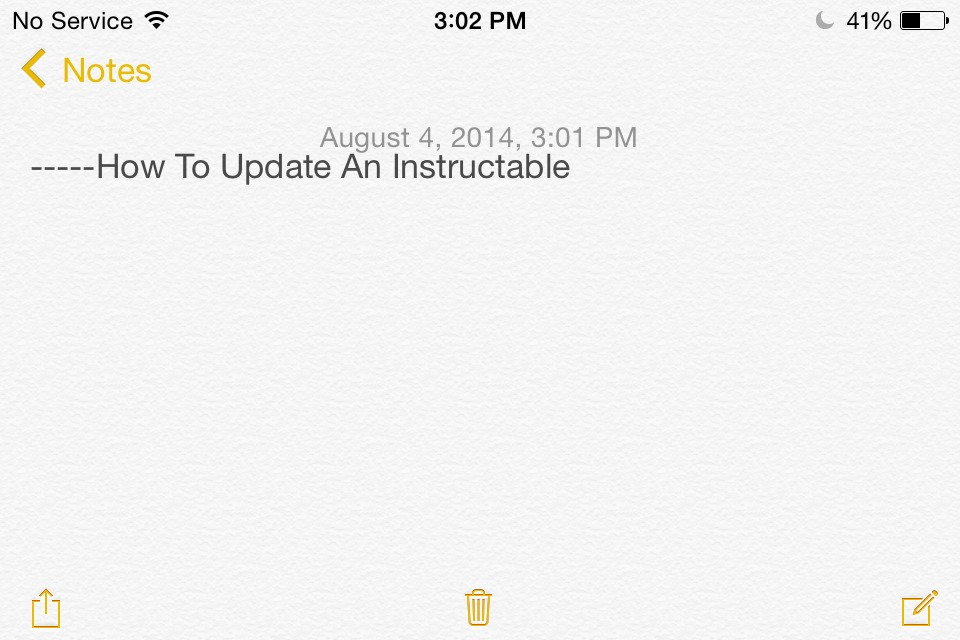 How To Update Your Instructable ( On Mobile Version )