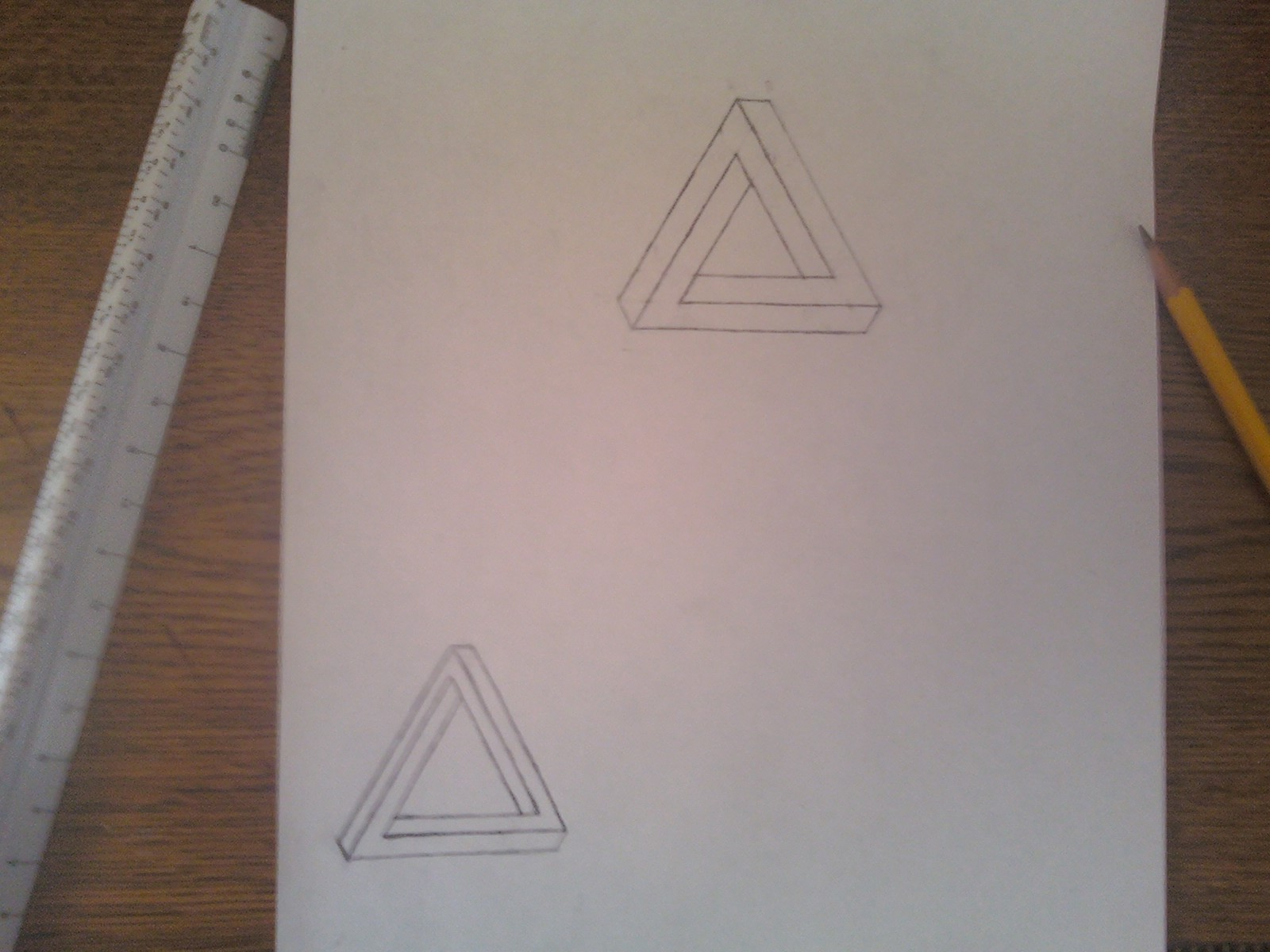 Draw a Penrose Triangle