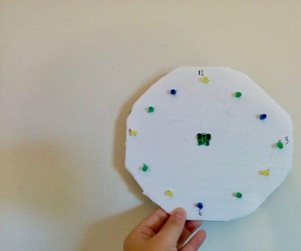 Minimalist LED Clock (Animated)