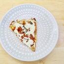 Matzo Brei Breakfast Skillet Pizza - Gluten Free!