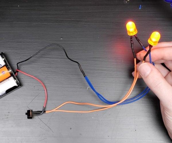 简易LED电路